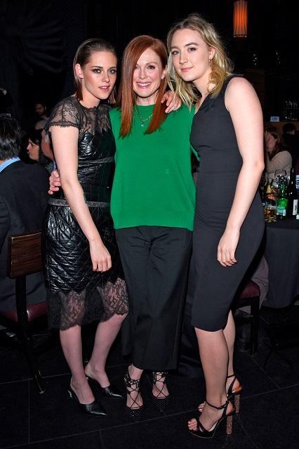 Kristen Stewart, Julianne Moore e Saoirse Ronan ai New York Film Critics Circle Awards, New York