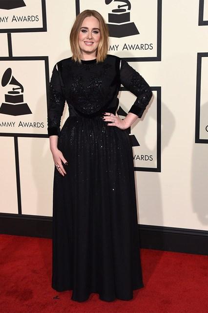 Adele in Givenchy Haute Couture by Riccardo Tisci, realizzato in esclusiva per lei