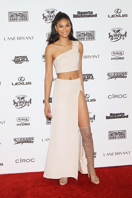 Chanel Iman allo Sports Illustrated event, New York