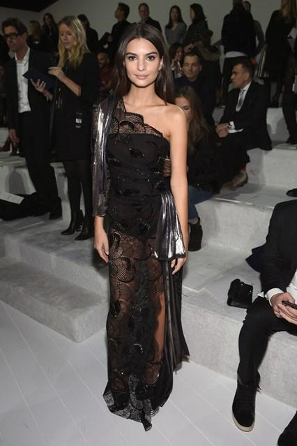 Emily Ratajkowski  alla sfilata Marc Jacobs, New York