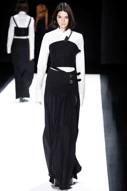 Kendall Jenner per Vera Wang