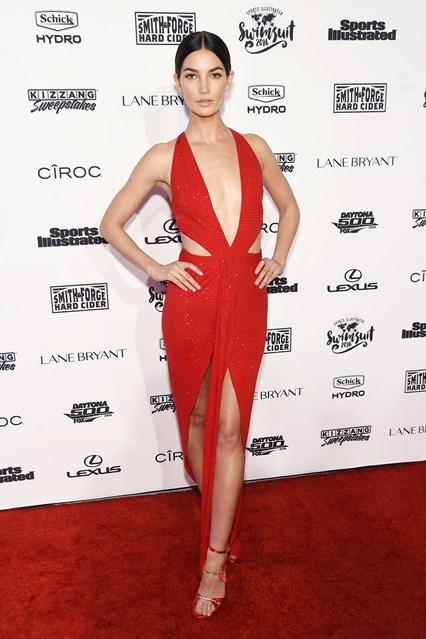 Lily Aldridge allo Sports Illustrated event, New York
