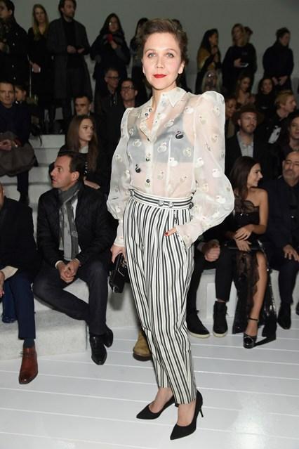 Maggie Gyllenhaal alla sfilata Marc Jacobs, New York