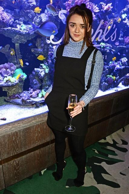 Maisie Williams alla Kiehl's VIP dinner, London