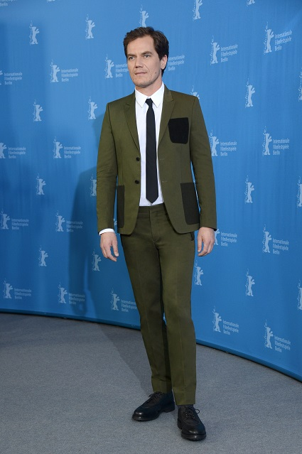 Michael Shannon in Givenchy by Riccardo Tisci alla 66° Berlinale International Film festival, Berlino