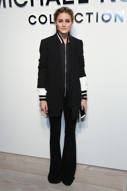 Olivia Palermo alla sfilata di Michael Kors Collection, New York