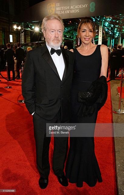 Sir Ridley Scott attends EE British Academy Film Awards