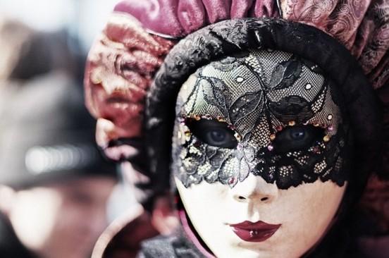L'eleganza delle maschere del carnevale di Venezia