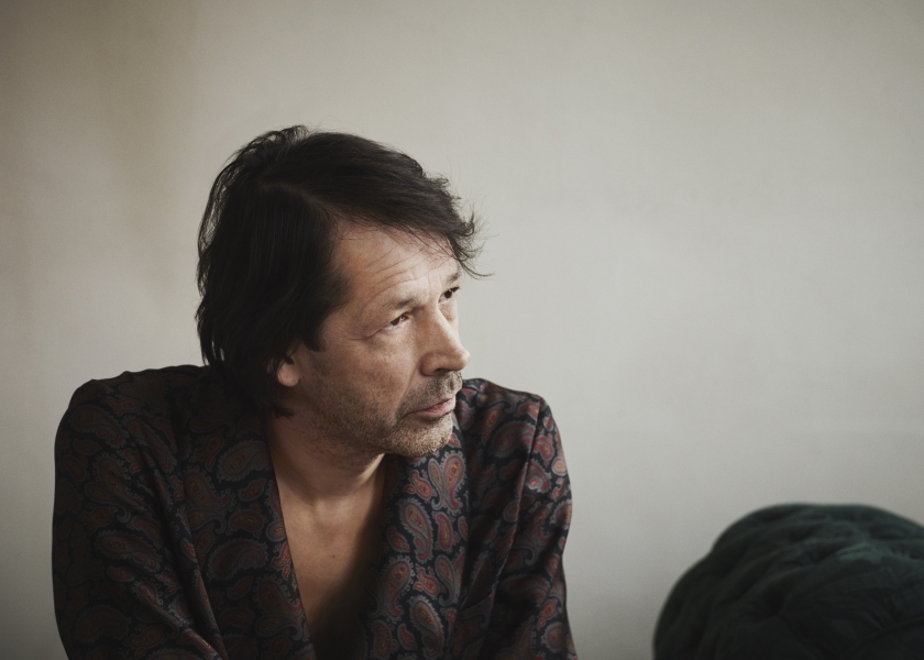 Portrait of Peter Saville c Courtesy of Paul Wetherell