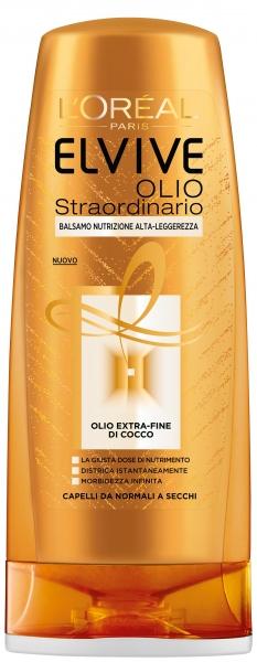 Balsamo Elvive Olio Straordinario Extra Fine di Cocco