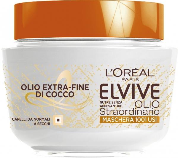 Maschera Elvive Olio Straordinario Extra Fine di Cocco