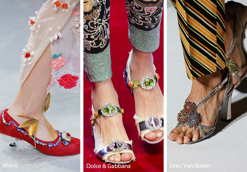 spring_summer_2018_shoes_trends_jewel_embellished_shoes