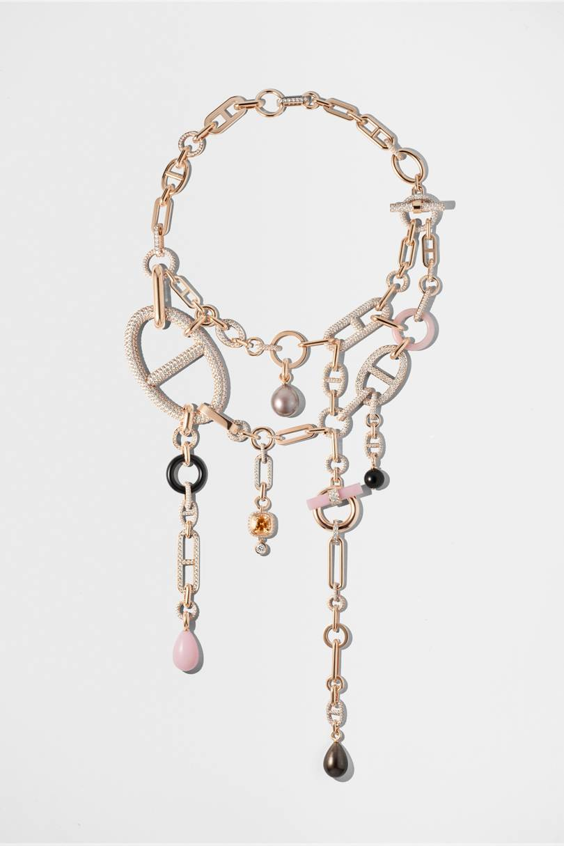 Hermès  Jewellery Collection Collier Grand Jete