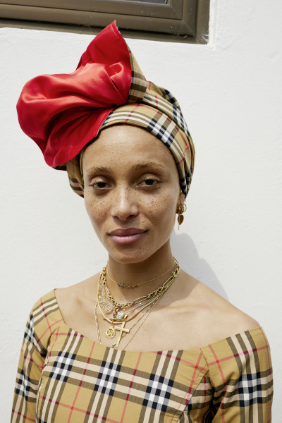 Adwoa Aboah c Courtesy of Burberry_Juergen Teller