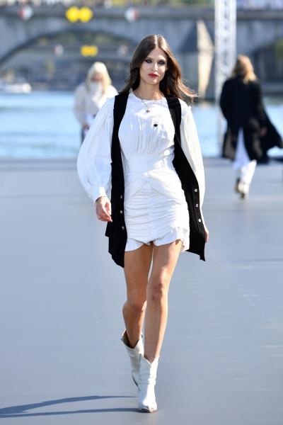 Bianca Balti al L'Oreal Defilè, Paris Fashion Week