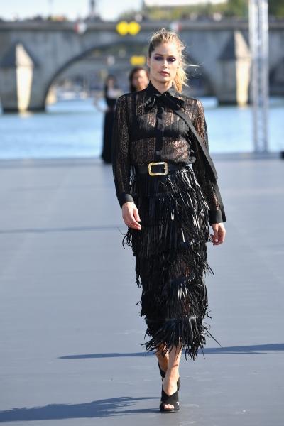 Doutzen Kroes al L'Oreal Defilè, Paris Fashion Week