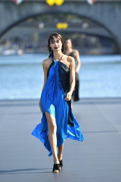 Luma Grothe  al L'Oreal Defilè, Paris Fashion Week