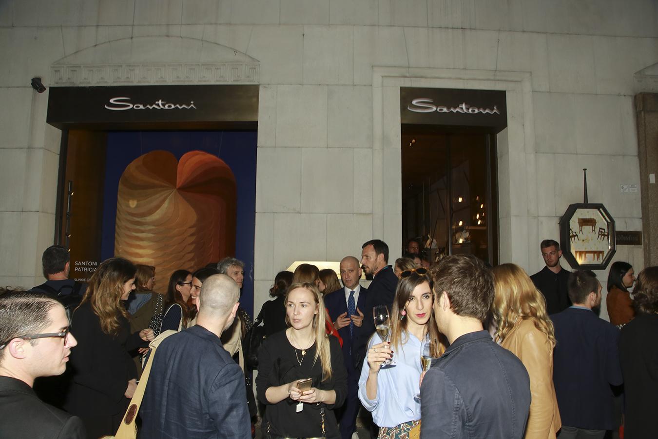 Santoni Cocktail @  Milan Design Week