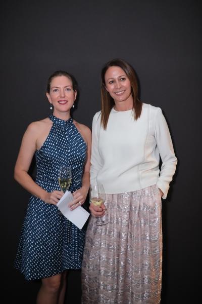 AnnMarie Harris (Swarovski) & Caroline Rush (BFC)