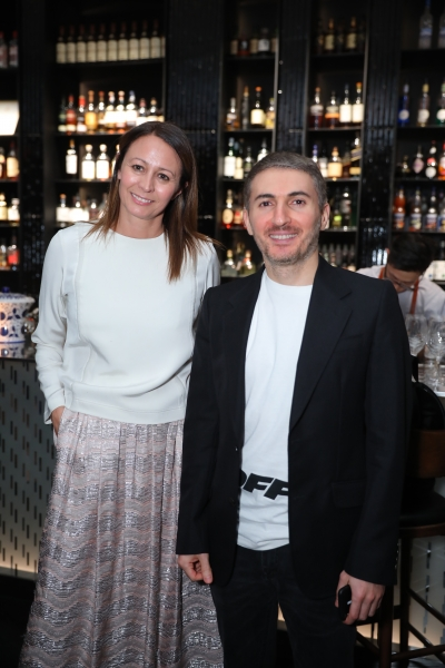 Caroline Rush (BFC) & Martin Avertysian (Farfetch)