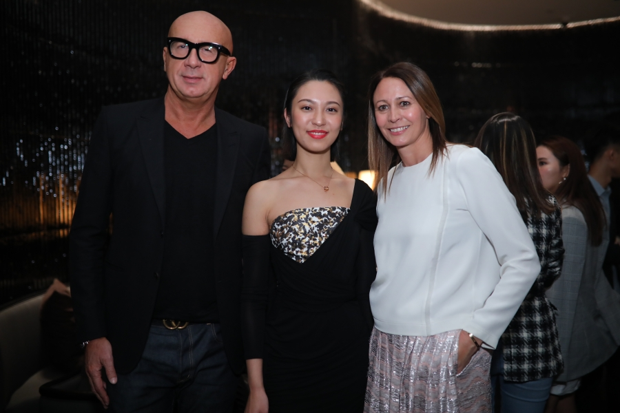 Marco Bizzarri (Gucci), Anny Fan & Caroline Rush (BFC)