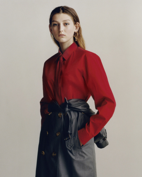 Burberry Heritage Trench Reimagined - photographed by Thurstan Redding, styled by Victoire Simonney
