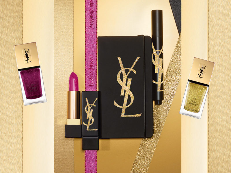 Ysl Beauté Gold Attraction Holiday Look 2018