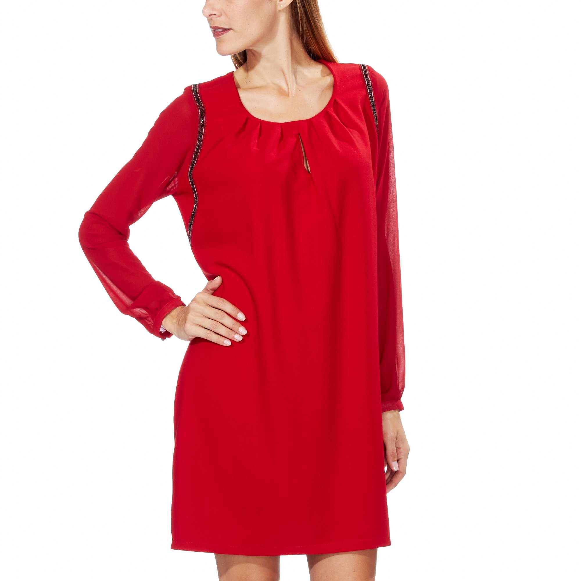 abito-corto-maniche-voile-rosso-donna-gk988_2_zc1