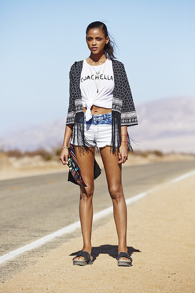 H&M Loves Coachella collection.