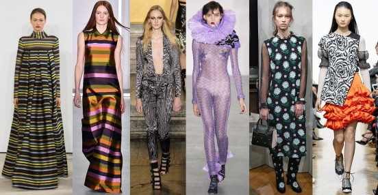 London Fashion Week - Day 2 Highlights, Color Power