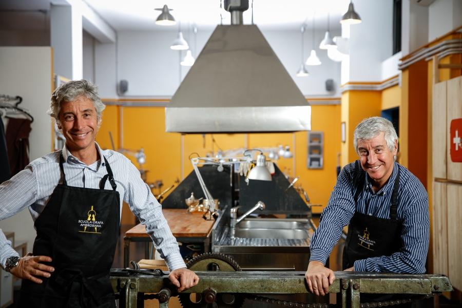 da sinistra Luca Solari e Guido Solari