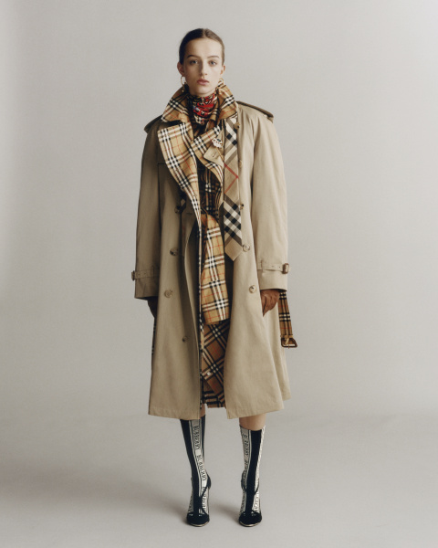 Burberry Heritage Trench Reimagined - photographed by Thurstan Redding, styled by Jack Borkett
