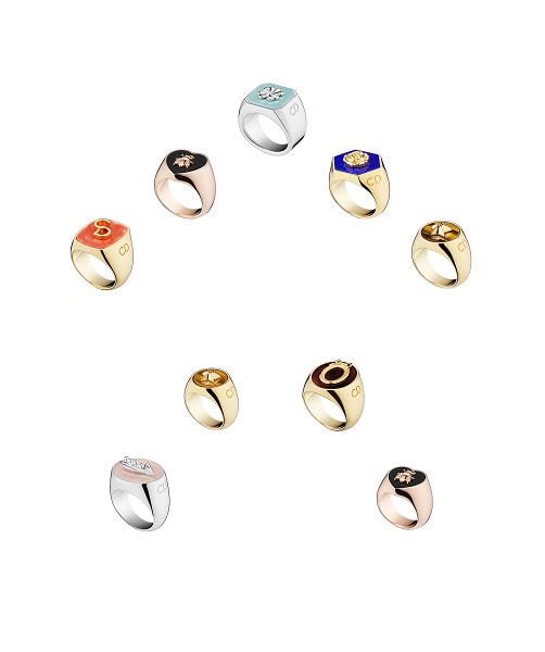 LUCKY DIOR SIGNET RINGS