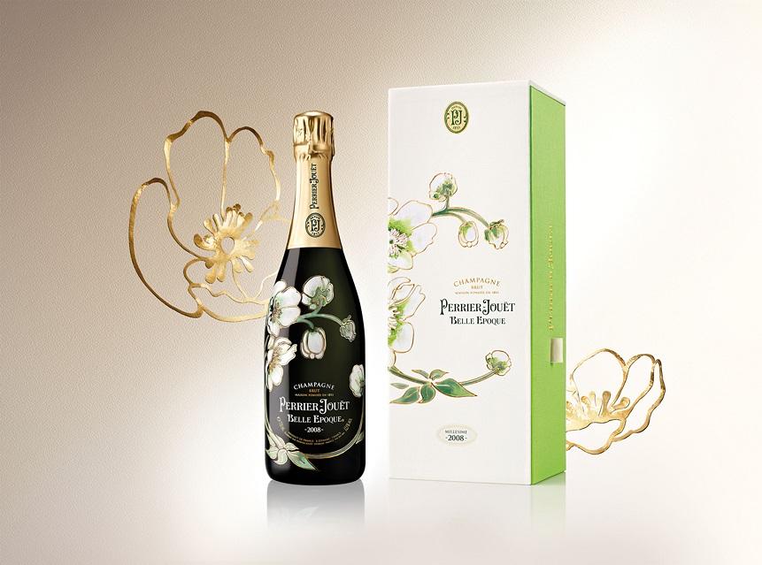 Belle Epoque Blanc de Blancs: champagne e arte sotto l'albero