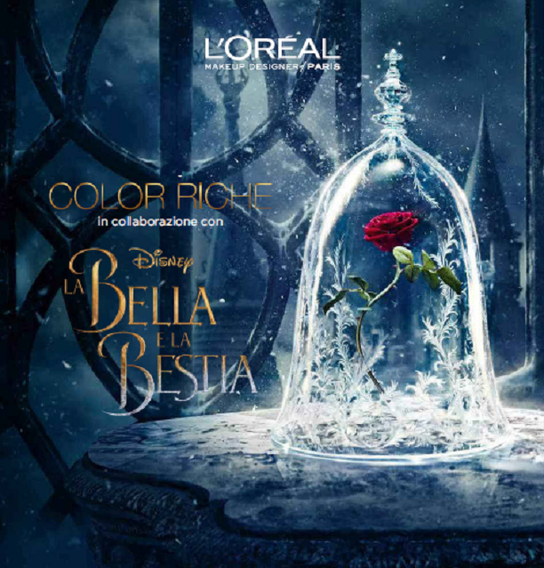 Color Riche per Disney La Bella e La Bestia