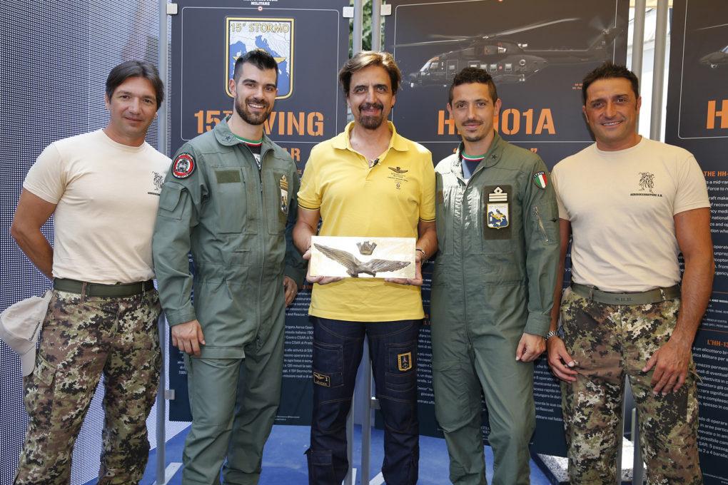 Aeronautica Militare presenta la sua nuova collezione  SS2018