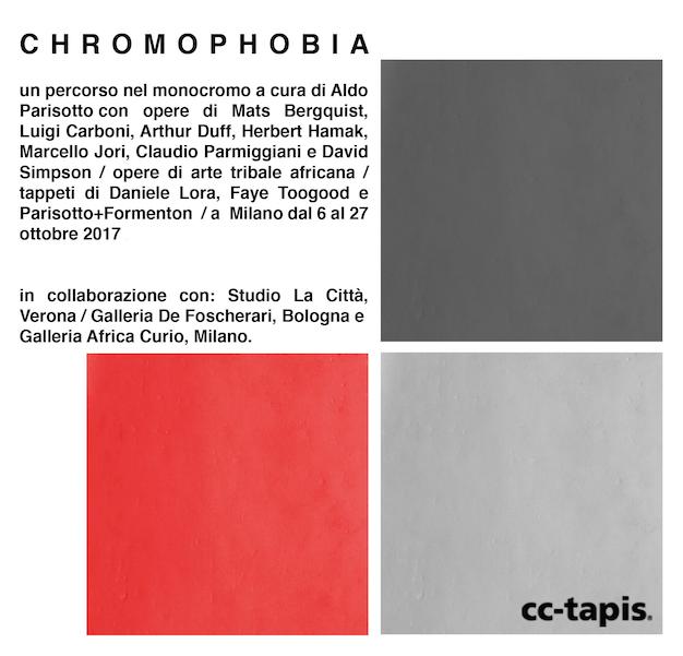 Dalla contaminazione tra architettura, arte e design nasce CHROMOPHOBIA