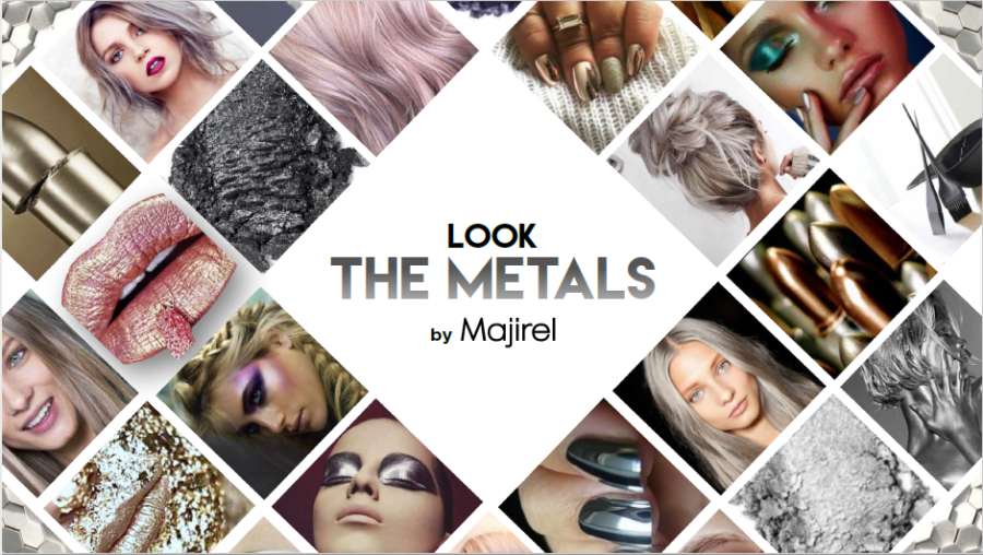 L'Oréal Professionnel presenta The Metals by Majirel