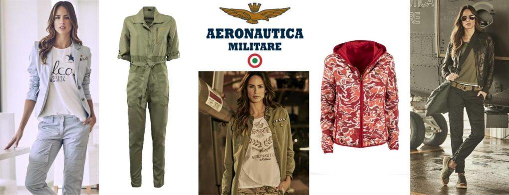 La nuova collezione donna primavera/ estate 2018 firmata AERONAUTICA MILITARE
