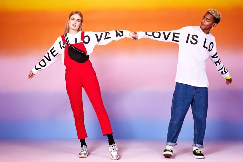 """Boohoo e BoohooMAN lanciano """"Love Is Love"""", una collezione """"gender fluid"""""""