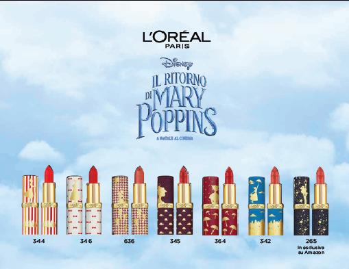 La magia di Mary Poppins nei rossetti Color Riche