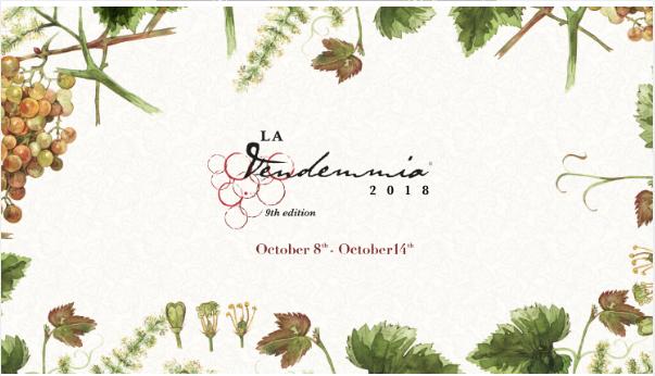 """MONTENAPOLEONE DISTRICT riserva a milanesi e turisti  il menu """"LA VENDEMMIA"""""""