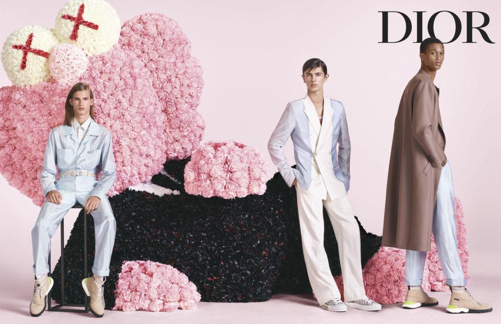 La moda giocosa di Dior Men per la campagna SS2019