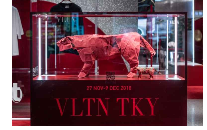 Valentino apre a Tokyo e presenta la colleziine 2019