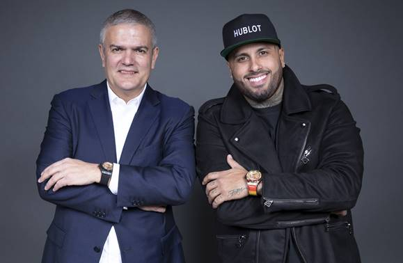 Hublot svela il Big Bang Meca-10 Nicky Jam