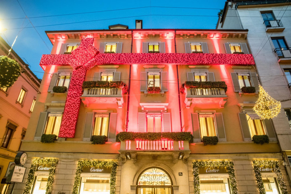 "Lusso e Solidarietà per la ""Christmas Shopping Experience"" di Montenapoleone District"