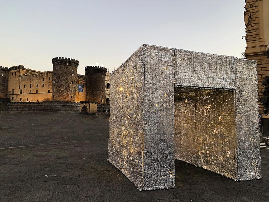 Si è tenuta a Napoli l'inaugurazione della Mostra NAPOLI EDEN di Annalaura di Luggo