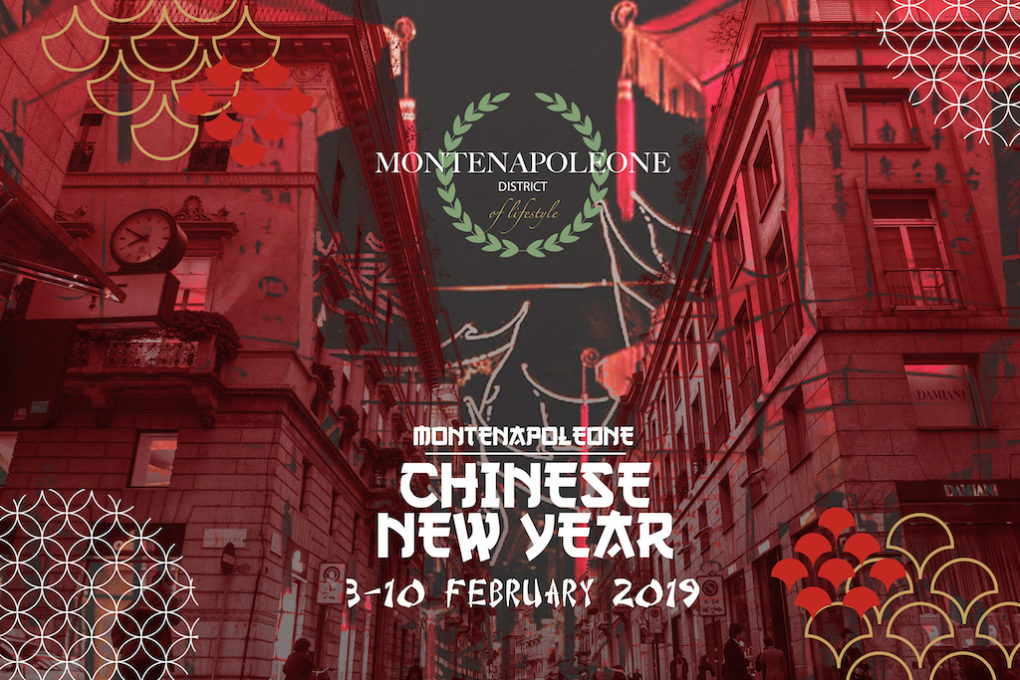 MONTENAPOLEONE CHINESE NEW YEAR da un'idea di MonteNapoleone District