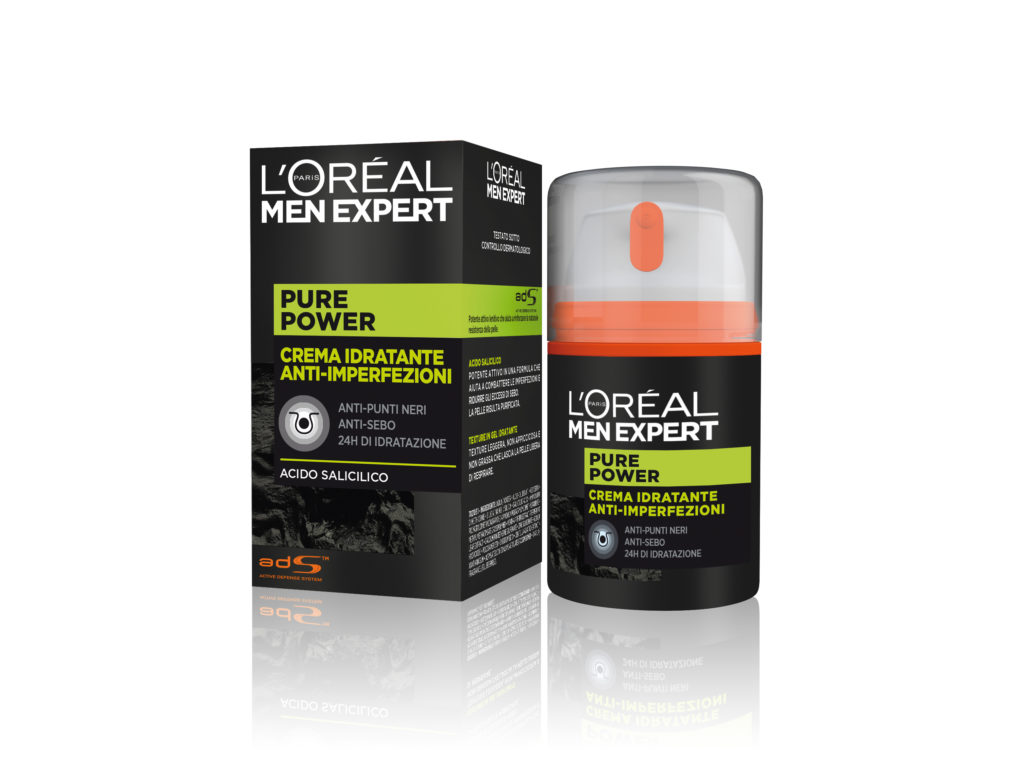 Skincare routine for him, L'Oréal Paris Men Expert svela pure charcoal e pure power