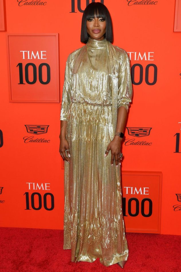 Naomie Campbell in Valentino al Time 100 Gala